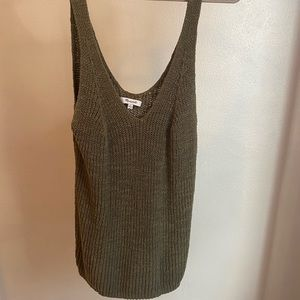 Olive green madewell NEW tank top